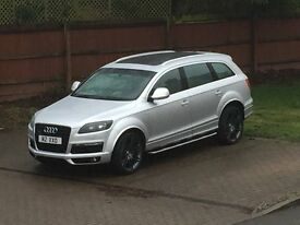 Audi Q7 3.0L Quattro S-Line 2007 *Full Glass Roof* Private Plate