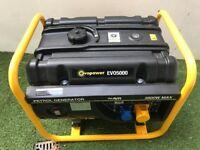 Evopower EVO5000 3.8KW Petrol Generato