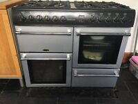 Belling Range cooker, double oven & grill.