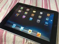 iPad 1 32GB WIFI and 3G network