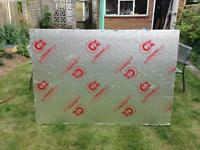 Celotex insulation board 170 x 120 x 10cm.