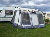 Caravan awning - Outdoor Revolution Compactalite Pro 325 with Inner Tent & Bedroom Extention - VGC