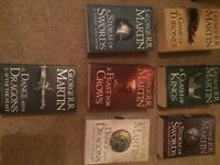 Game of Thrones book set - Seven books