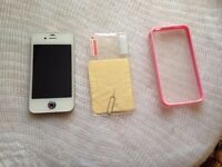 iphone 4s, 16gb, on vodafone, Lebara, faulty wifi, mobile data works,