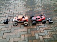 large nitro/petrol remote control cars