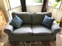2 seater sofa - Grey - VGC