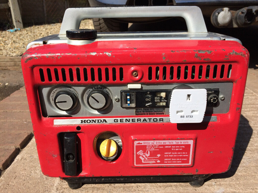 Honda E300 Petrol Suitcase Generator Camping Workshop
