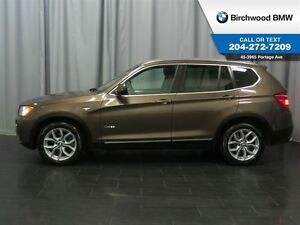 2013 BMW X3 28i Navigation Technology & Premium Package!