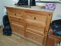 100% Wooden Chest of draws