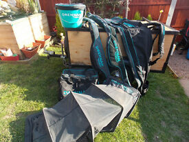 Drennan luggage set up