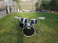 pearl forum series 5 piece drum set