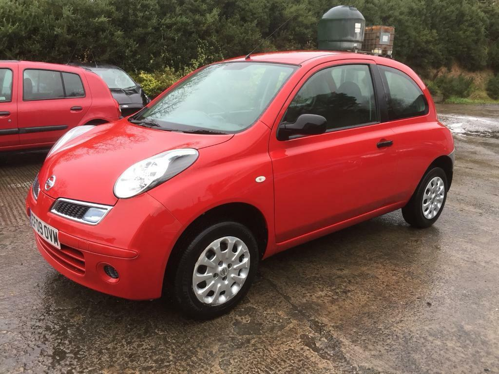 2009 Nissan Micra 1.3 Visa *** extremely light rear damage ***