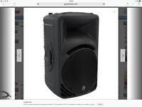 Mackie PA speakers ARM 450s
