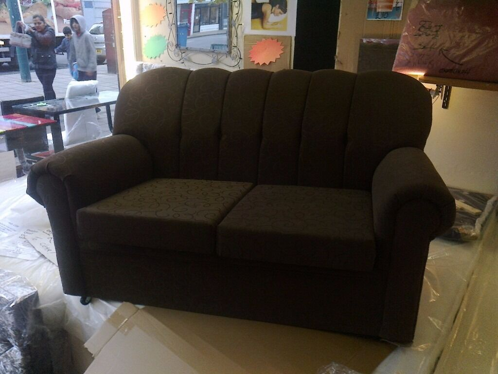 Fabric 2 seater Sofa NEW JUST £80 FREE DELIVERY TOO