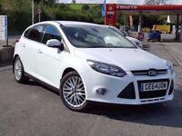 Now In Stock, Low Mileage 2014 64 Ford FOCUS Zetec 1.6 CDTi NAVIGATOR, SatNav, Long Ford Warranty