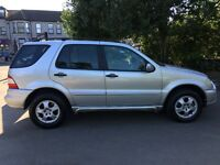 2003 Mercedes-Benz M Class Auto 2.7 ML270 CDI 5dr Diesel Automatic 4 by 4 Jeep @07445775115