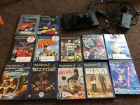 Ps2 slim with games