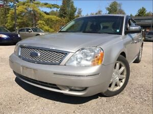 2006 Ford Five Hundred Limited Leather Sunroof Heated Seats
