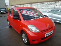 Daihatsu SIRION S,5 dr hatchback,2 previous owners,FSH,great little car,great mpg,only £30 road tax