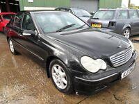 mercedes c220 cdi parts from a 2003 /4 car black