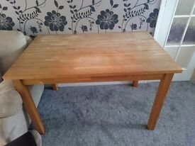 Used wooden kitchen table **FREE**