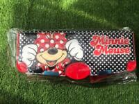 Disney Red Minnie Mouse Polka Dot Pop Out Pencil Case New