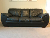 Sold - Leather Suite (3 and 2 seater sofa)