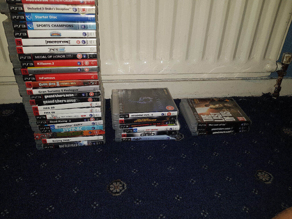18 Playstation 3 Games PS3 (GTA 5, The Last Of Us, Need For Speed, FIFA 16,  PES 16) | in Chadderton, Manchester | Gumtree