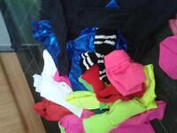 bundle of girls dance wear to suit age 10 and up imaculate condition