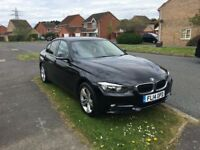 2014 BMW 318D Sport 2.0 Black Saloon