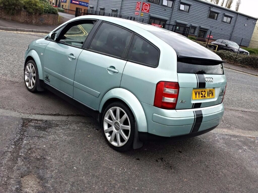 2003 Audi A2 Sportgreen145 Speed Manualservice Historys3 2000 Mazda Mpv Fuel Filter Location History