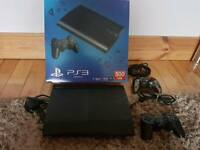500gb PS3 with additional controller & games