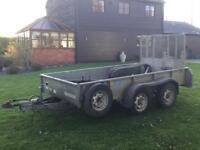 Ifor Williams Plant Trailer 10'2 x 5'2