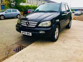 Mercedes ml 270 cdi special edition 2005