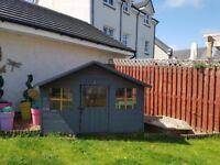 Kids wooden playhouse