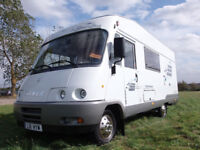 Hymer Starline 640 Motorhome. Auto LHD In really good order. Ready for Spain this winter