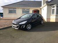 2012 Peugeot 308 1.6 HDi SR 5dr+++ black +++ £20 road tax