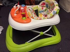 Mothercare Safari Foldable Baby Walker