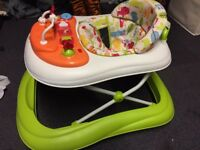 Mothercare Safari Foldable Baby Walker