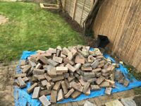 Freee Block paving bricks to be collected