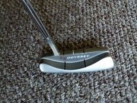 Odyssey white steel putter for sale