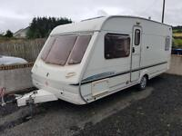 2005 abbey aventura ,4 berth with fixed bed