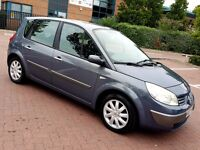2007 AUTOMATIC RENAULT SCENIC 1.6 PETROL DYNAMIQUE 1 YEAR MOT PART EXCHANGE WELCOME