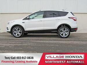 2017 Ford Escape Titanium 4WD | No Accidents | One Owner |