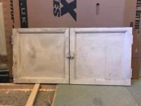 Old (1930s) cupboard doors