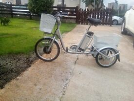 Women's electric trike never used