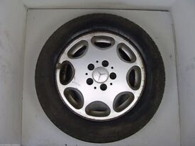 """Mercedes Benz 15"""" 8 Hole Alloy Wheels With Excellent Tyres. Cheap!"""