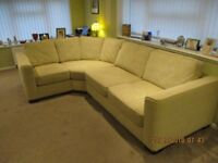 Furniture Village Eleanor 5 seat Corner Sofa