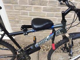Child's bicycle seat & bike
