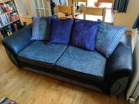 3 seater DFS Matinee sofa, perfect condition
